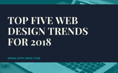 Top five web design trends for 2018
