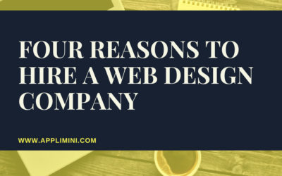 Four reasons to hire a web design company