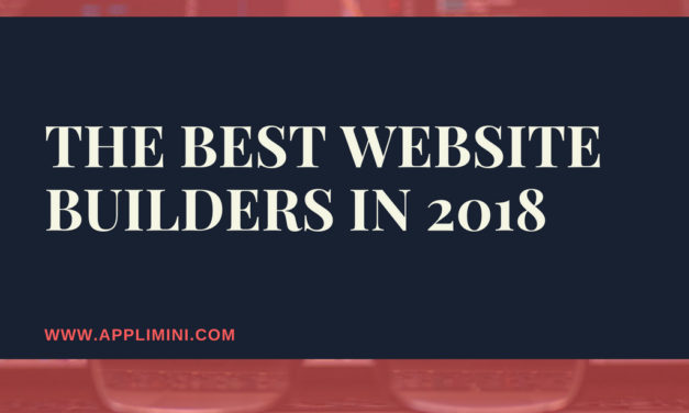 The best website builders in 2018